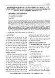 Đánh giá tình hình sinh trưởng và hiệu quả kinh tế của mô hình rừng trồng quế (Cinnamomum Blume) tại xã Yên Cư, huyện Chợ Mới, tỉnh Bắc Kạn