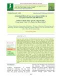 Antioxidant effects of aloe vera as semen additive in cryopreservation of cattle bull semen
