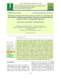 Performance of garden pea (Pisum sativum var hortense L.) genotypes and their genetic variation, genetic advance, character association and path analysis for pod, seed and quality characters