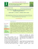 Weed management effects on growth and yield of kharif grain sorghum (Sorghum bicolor L.)