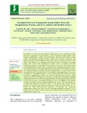 Serological survey of leptospirosis among poultry farm and slaughterhouse workers and its co-relation with the risk factors