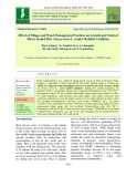 Effect of tillage and weed management practices on growth and yield of direct seeded rice (Oryza sativa L.) under Rainfed condition
