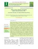 Efficacy of newer molecules of fungicides against Alternaria brassicae in vitro