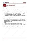 Bài giảng Kiểm toán căn bản - Bài 2: Phân loại kiểm toán