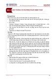 Bài giảng Kiểm toán căn bản - Bài 4: Đối tượng và phương pháp kiểm toán