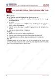 Bài giảng Kiểm toán căn bản - Bài 3: Các khái niệm cơ bản thuộc nội dung kiểm toán