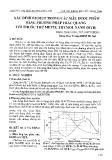 Xác định các Bitmut trong các mẫu dược phẩm bằng phương pháp trắc quang với thuốc thử metyl thymol xanh (MTB)