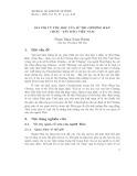Giá trị vũ trụ học của Sử thi Chương Han (Thái – Tây Bắc) Việt Nam