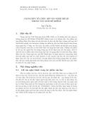 Cách thức tổ chức lời văn nghệ thuật trong văn xuôi Hồ Dzếnh