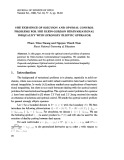 The existence of solution and optimal control problems for the Klein-Gordon hemivariational inequality with strongly elliptic operator