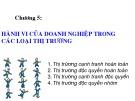 Bài giảng Kinh tế vi mô: Chương 5 - ThS. Trần Thanh Hiền
