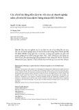 Các yếu tố tác động đến cấu trúc vốn của các doanh nghiệp niêm yết trên Sở Giao dịch Chứng khoán Hồ Chí Minh