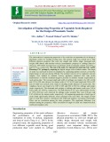 Investigation of engineering properties of vegetable seeds required for the design of pneumatic seeder