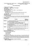Đề cương học phần Nghe tiếng Anh 1 (Listening 1)