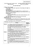 Đề cương học phần Soạn thảo văn bản tiếng Anh (English for Correspondence)