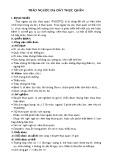 Bài giảng Bệnh học tiêu hóa - Bài 4: Trào ngược dạ dày thực quản
