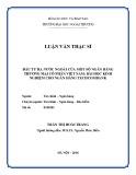 Luận văn Thạc sĩ Tài chính Ngân hàng: Đầu tư ra nước ngoài của một số NHTMCP Việt Nam: Bài học kinh nghiệm cho ngân hàng Techcombank