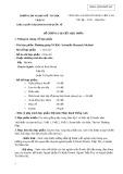 Đề cương chi tiết học phần Phương pháp Nghiên cứu khoa học (Scientific research method)