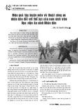 Hiệu quả tập luyện môn võ thuật công an nhân dân đối với thể lực của nam sinh viên Học viện An ninh Nhân dân
