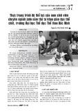 Thực trạng trình độ thể lực của nam sinh viên chuyên ngành judo năm thứ tư khoa giáo dục thể chất, trường Đại học Thể dục Thể thao Bắc Ninh