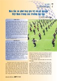 Bảo tồn và phát huy giá trị võ cổ truyền Việt Nam trong các trường đại học