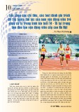 Lựa chọn các chỉ tiêu, các test đánh giá trình độ tập luyện thể lực của nam vận động viên trẻ chạy cự ly trung bình lứa tuổi 14 - 15 tại trung tâm đào tạo vận động viên cấp cao Hà Nội