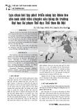 Lựa chọn bài tập phát triển năng lực khéo léo cho nam sinh viên chuyên sâu bóng đá trường Đại học Sư phạm Thể dục Thể thao Hà Nội