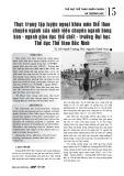 Thực trạng tập luyện ngoại khóa môn thể thao chuyên ngành của sinh viên chuyên ngành bóng bàn - ngành giáo dục thể chất - trường Đại học Thể dục Thể thao Bắc Ninh