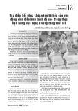 Đặc điểm hồi phục chức năng hô hấp của vận động viên điền kinh trình độ cao trong thực hiện lượng vận động ở vùng công suất lớn