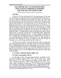 Đặc điểm sinh học của xạ khuẩn nội sinh trên cây nghệ ở Nam Định và tiềm năng sinh tổng hợp chất kháng khuẩn