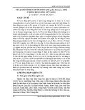 Tỷ lệ giới tính ốc bươu đồng (Pila polita Deshayes, 1830) ở đồng bằng sông Cửu Long