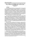 Sử dụng trình tự nucleotide vùng gen nhân (ITS-rRNA) để xác định loài lan thuộc chi lan Hoàng thảo (Dendrobium)