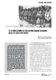 13 vị tiến sĩ triều Lê của huyện Thanh Chương qua tư liệu Hán Nôm