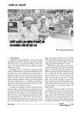 Xuất khẩu lao động ở Nghệ An và những vấn đề đặt ra