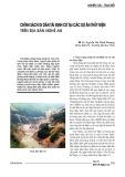 Chính sách di dân tái định cư tại các dự án thủy điện trên địa bàn Nghệ An