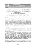 Ảnh hưởng của chitosan phân tử lượng thấp và nano SiO2 đến chất lượng quả ổi (Psidium guajava L.) sau thu hoạch
