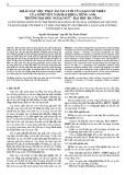 Khảo sát việc phát âm âm cuối của dạng số nhiều của sinh viên năm hai khoa tiếng Anh, trường Đại học Ngoại ngữ - Đại học Đà Nẵng