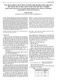 Ứng dụng thuật toán phân cụm dữ liệu để khai thác kết quả thi nhằm chuẩn hóa chất lượng đề thi trắc nghiệm