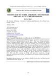 Ảnh hưởng của chất kết dính đến độ rỗng và hệ số suy giảm khuếch tán Clorua của HPC