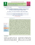 Soil-Site suitability evaluation for groundnut (Arachis hypogaea) in Western Saurashtra region of Gujarat, India