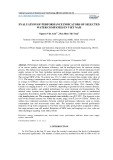 Evaluation of performance indicators of selected water companies in Viet Nam