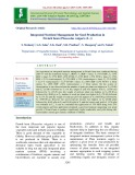 Integrated nutrient management for seed production in French bean (Phaseolus vulgaris (L.))