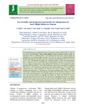 Eco-friendly and integrated approaches for management of early blight disease in tomato