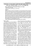Ảnh hưởng của độ ẩm đến sự biến đổi nhiệt độ bên trong ván trong quá trình ép nhiệt cao tần ván ép khối tre