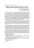Ảnh hưởng của nhiệt độ và độ ph đến quần xã ve giáp (Acari: Oribatida) ở rừng tự nhiên tại Vườn quốc gia Tam Đảo