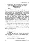 Nghiên cứu chế tạo vật liệu xúc tác quang hóa TiO2/GO ứng dụng xử lý phẩm màu DB71 trong môi trường nước