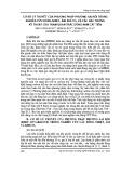 Cơ sở lý thuyết của phương pháp phương sai rối trong nghiên cứu dòng nhiệt, ẩm, khí CO2 và các đặc trưng kỹ thuật của trạm quan trắc dòng Nam Cát Tiên