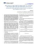 Phân tích lựa chọn chiều dày hợp lý kết cấu áo đường mềm theo ba điều kiện quy định trong 22TCN 211-06