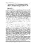 Nhân nhanh cây Nưa (Amorphophallus krausei) bằng kỹ thuật nuôi cấy mô và tế bào thực vật