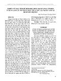 Nghiên cứu đặc tính mô bệnh học động mạch vị mạc nối phải sử dụng làm cầu nối trong phẫu thuật bắc cầu mạch vành tại Bệnh viện Chợ Rẫy
